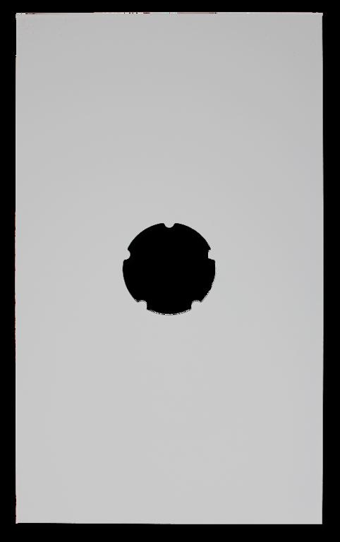 plaque de finition plafond blanche 500x300mm d 130mm. Black Bedroom Furniture Sets. Home Design Ideas
